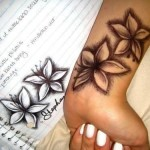 Orchid Tattoo 10 150x150 - 100's of Orchid Tattoo Design Ideas Pictures Gallery