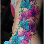 Orchid Tattoo 12 150x150 - 100's of Orchid Tattoo Design Ideas Pictures Gallery