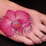 Orchid Tattoo 8 150x150 - 100's of Orchid Tattoo Design Ideas Pictures Gallery