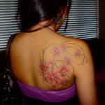100's of Plumeria Tattoo Design Ideas Pictures Gallery