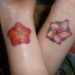 Plumeria Tattoo 12 150x150 - 100's of Plumeria Tattoo Design Ideas Pictures Gallery