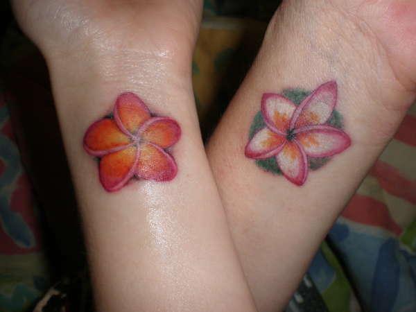 Plumeria Flower Tattoo