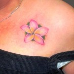 Plumeria Tattoo 8 150x150 - 100's of Plumeria Tattoo Design Ideas Pictures Gallery