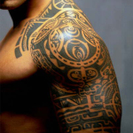 Polynesian 10 150x150 - 100's of Polynesian Tattoo Design Ideas Pictures Gallery