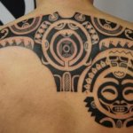 Polynesian 12 150x150 - 100's of Polynesian Tattoo Design Ideas Pictures Gallery