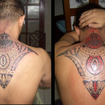 Polynesian 9 150x150 - 100's of Polynesian Tattoo Design Ideas Pictures Gallery