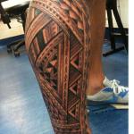 Polynesian Tribal Tattoo10 150x150 - 100's of Polynesian Tribal Tattoo Design Ideas Pictures Gallery