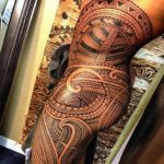 Polynesian Tribal Tattoo11 150x150 - 100's of Polynesian Tribal Tattoo Design Ideas Pictures Gallery