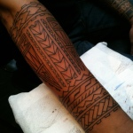 Polynesian Tribal Tattoo12 150x150 - 100's of Polynesian Tribal Tattoo Design Ideas Pictures Gallery