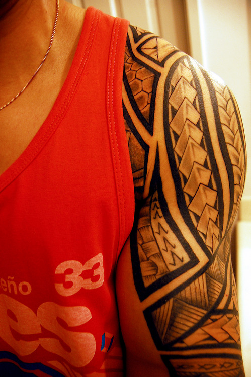 100's of Polynesian Tribal Tattoo Design Ideas Pictures Gallery