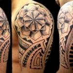 Polynesian Tribal Tattoo6 150x150 - 100's of Polynesian Tribal Tattoo Design Ideas Pictures Gallery