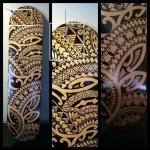 Polynesian Tribal Tattoo9 150x150 - 100's of Polynesian Tribal Tattoo Design Ideas Pictures Gallery