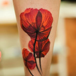 Poppy Tattoo 11 150x150 - 100's of Poppy Tattoo Design Ideas Pictures Gallery