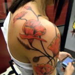 Poppy Tattoo 12 150x150 - 100's of Poppy Tattoo Design Ideas Pictures Gallery