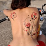 Poppy Tattoo 2 150x150 - 100's of Poppy Tattoo Design Ideas Pictures Gallery