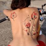 Poppy Tattoo 2 150x150 - 100's of Poppy Tattoo Design Ideas Pictures Gallery