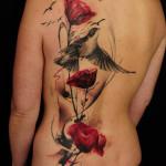 Poppy Tattoo 3 150x150 - 100's of Poppy Tattoo Design Ideas Pictures Gallery