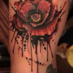 Poppy Tattoo 4 150x150 - 100's of Poppy Tattoo Design Ideas Pictures Gallery