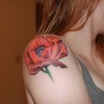 Poppy Tattoo 6 150x150 - 100's of Poppy Tattoo Design Ideas Pictures Gallery