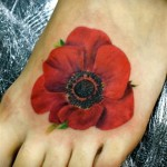 Poppy Tattoo 8 150x150 - 100's of Poppy Tattoo Design Ideas Pictures Gallery