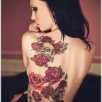 Rose Tattoo 6 150x150 - 100's of Rose Tattoo Design Ideas Pictures Gallery
