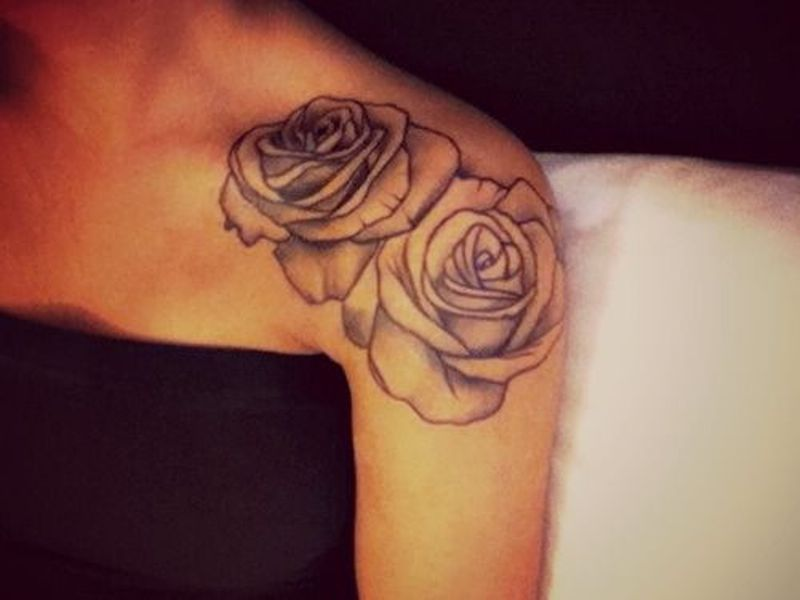 100's of Rose Tattoo Design Ideas Pictures Gallery