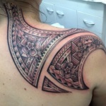 Samoan 10 150x150 - 100's of Samoan Tattoo Design Ideas Pictures Gallery