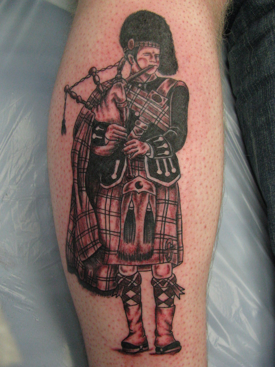 Scottish Half Sleeve Tattoo Designs
