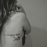 Script Tattoo9 150x150 - 100's of Script Tattoo Design Ideas Pictures Gallery