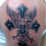 Serbian 4 150x150 - 100's of Serbian Tattoo Design Ideas Pictures Gallery