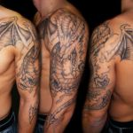 Shoulder Dragon 2 150x150 - 100's of Shoulder Dragon Tattoo Design Ideas Pictures Gallery