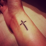 100's of Simple Cross Tattoo Design Ideas Pictures Gallery