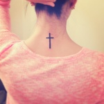 Simple Cross 3 150x150 - 100's of Simple Cross Tattoo Design Ideas Pictures Gallery