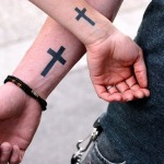 Simple Cross 4 150x150 - 100's of Simple Cross Tattoo Design Ideas Pictures Gallery