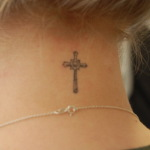 Simple Cross 5 150x150 - 100's of Simple Cross Tattoo Design Ideas Pictures Gallery