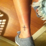 Simple Cross 7 150x150 - 100's of Simple Cross Tattoo Design Ideas Pictures Gallery