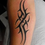 Simple Tribal Tattoo1 150x150 - 100's of Simple Tribal Tattoo Design Ideas Pictures Gallery