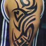 Simple Tribal Tattoo8 150x150 - 100's of Simple Tribal Tattoo Design Ideas Pictures Gallery