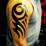 Simple Tribal Tattoo9 150x150 - 100's of Simple Tribal Tattoo Design Ideas Pictures Gallery