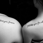 Sister 3 150x150 - 100's of Sister Tattoo Design Ideas Pictures Gallery