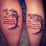 Sister 8 150x150 - 100's of Sister Tattoo Design Ideas Pictures Gallery
