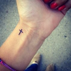 100's of Small Cross Tattoo Design Ideas Pictures Gallery