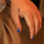 Small Cross 8 150x150 - 100's of Small Cross Tattoo Design Ideas Pictures Gallery