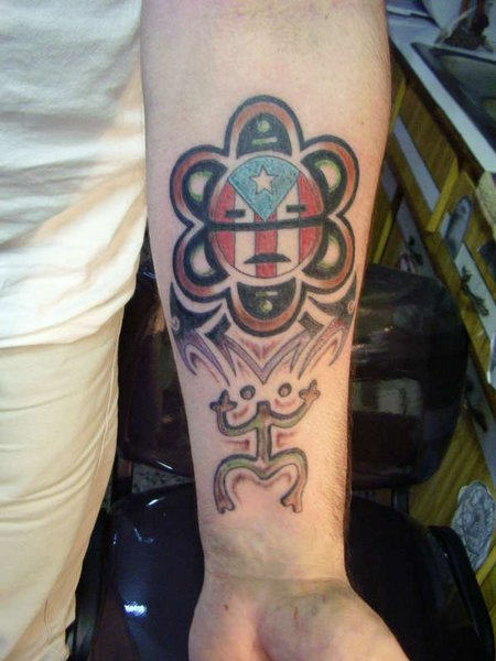 100's of Taino Tattoo Design Ideas Pictures Gallery