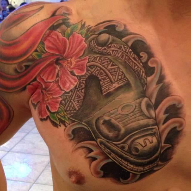 Indian Taino Tattoo Puerto Rico