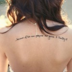Tattoos With Sayings11 150x150 - 100's of Tattoos With Sayings Design Ideas Pictures Gallery