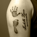 Tattoos of Children 9 150x150 - 100's of Tattoos of Children Design Ideas Pictures Gallery