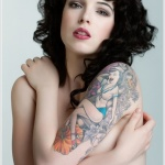 Tattoos of Girls 2 150x150 - 100's of Tattoos of Girls Design Ideas Pictures Gallery