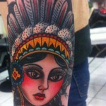 Tattoos of Girls 3 150x150 - 100's of Tattoos of Girls Design Ideas Pictures Gallery