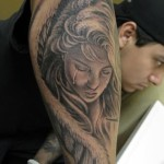 Tattoos of Girls 4 150x150 - 100's of Tattoos of Girls Design Ideas Pictures Gallery